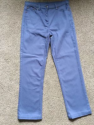 Ladies Blue COTTON TRADERS jeans Size 12 Length 30