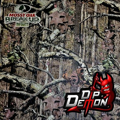 Infinity Camo Dip Demon Hydrographic Water Transfer Film Hydro Dipping