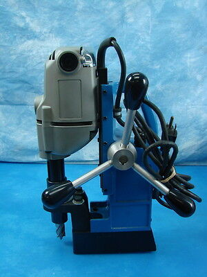 Hougen Jancy Magnetic Drill Press w/ Cutters Bits Tool Equipment Portable