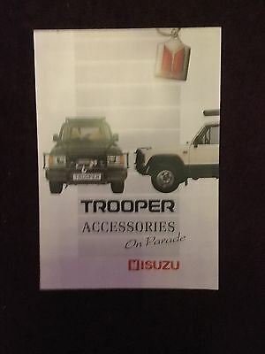 Trooper Accessories On Parade Brochure