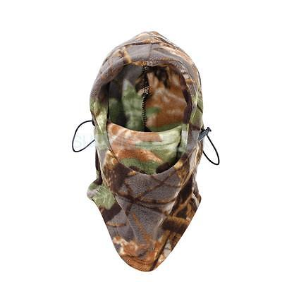 Camo Ski Motorcycle Thermal Snood Neck Warm Face Mask Balaclava Winter Hat