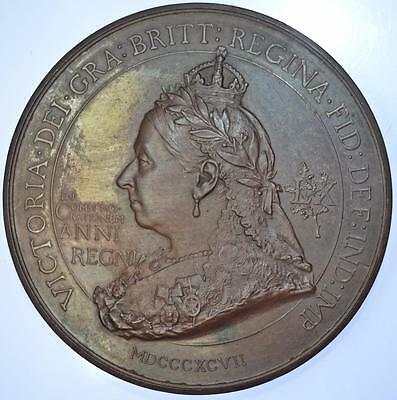 Queen Victoria 1897 Diamond Jubilee medal by Bowcher for Spink