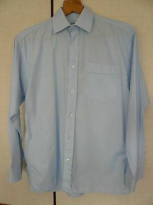 "Double Two Shirt - 15"" Neck - Blue - Lightly worn."