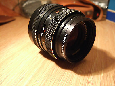 Carl Zeiss Jena DDR Electric MC Flektogon 35mm f2.4 - GREAT vintage camera lens