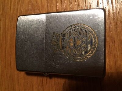 Very Rare H.M.S BICKINGTON Zippo lighter.