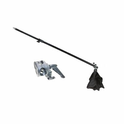 Photo Studio Overhead Boom Arm Top Light Stand & Grip Head for Softbox Light