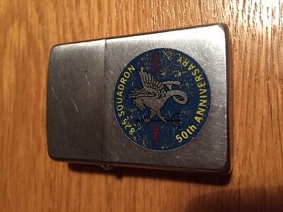 Rare 826 Royal Navy Air Squadron 50th Anniversary Zippo lighter. (Double Sided)