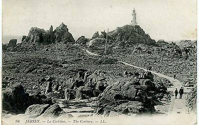 Jersey-The Corbiere, Pp-Postcard,posted 1910.sb.89