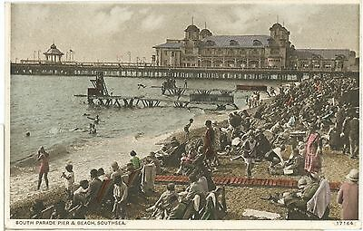 HAMPSHIRE- SOUTHSEA- PP-POSTCARD,POSTED1932.wb28