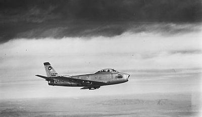 North American F-86 Sabre Jet  Airplane Aircraft Photo  #018