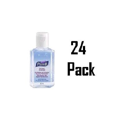 Hygienic Hand Gel Sanitiser 60ml x 24 Pack, Purell Travel Size Hand Alcohol Gel