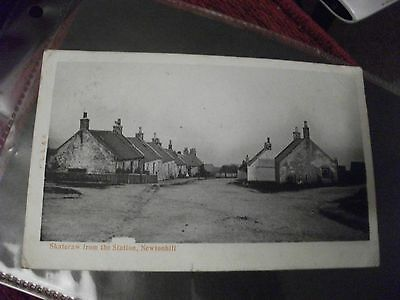 Skateraw from the Station, Newtonhill Postcard Posted 1903