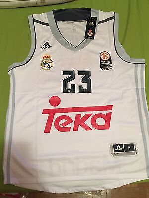 Camiseta Sergio LLULL Real Madrid Acb Euroleague Nba Fiba