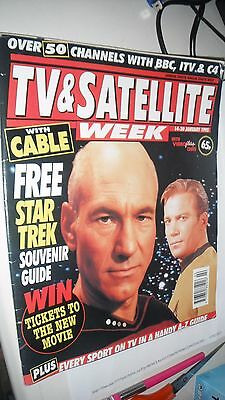 Star Trek Souvenir Guide 1995 TV Magazine