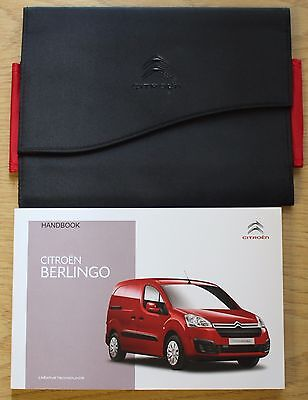 Citroen Berlingo Owners Manual Handbook Wallet  2010-2015 Pack 11824