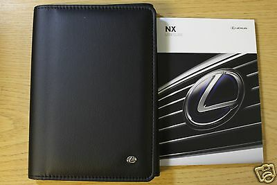 Lexus Nx User Guide Handbook Owners Manual Wallet 2014-2015 Pack 8314