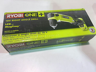 *SEALED BOX* Ryobi P241 18 Volt ONE+ Cordless 3/8 in. Right Angle Drill