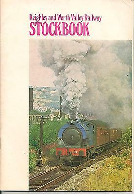 Keighley & Worth Valley Stockbook, full of pictures and history, published 1970