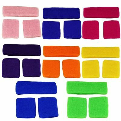 Unisex Sports Sweat sweatband Headband & Sweatbands Yoga Gym Stretch Head Band