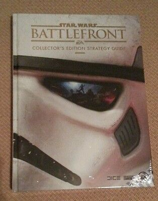 NEW, SEALED Star Wars Battlefront Collector's Edition Guide (Hardback, 2015)