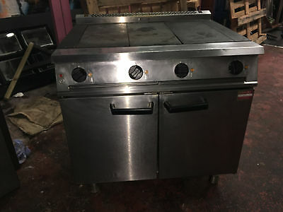 Falcon Electric Commercial Cooker with Solid top and Double oven