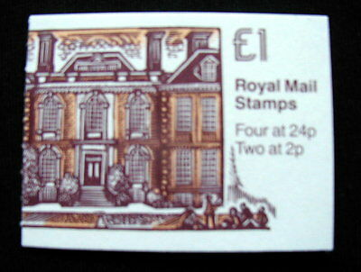 Great Britain Unexploded Complete Postage Stamp Booklet 1 £ MARLBOROUGH COLLEGE