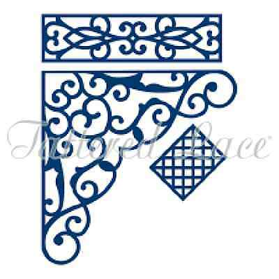 """844Tattered Lace """"Build an Archway"""" 3 pc filagree Die Set    Retired HTF"""