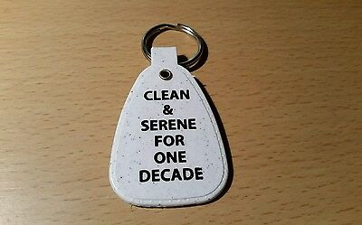 NARCOTICS ANONYMOUS   ONE DECADE    10 years  KEY TAG ANNIVERSARY