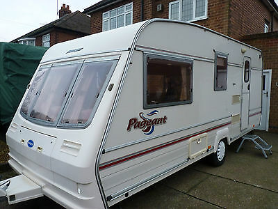 ABI Globetrotter 4 berth caravan and full awning NOW SOLD