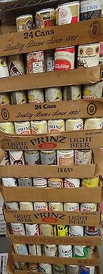 Lot of 250 EMPTY Vintage 1960s/Early 1970s Beer, Beverage Cans Steelers Pirates