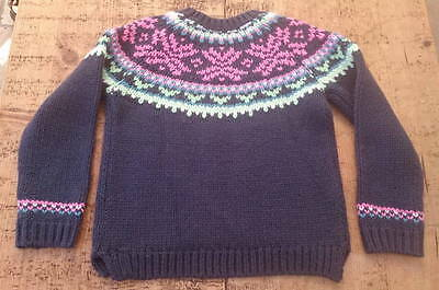 Girls Jumper by Next - Aged 7 - 8 Years