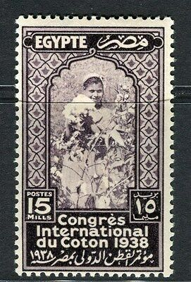 EGYPT;  1938 Cotton Congress Cairo issue Mint hinged 15m. value