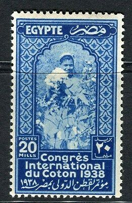 EGYPT;  1938 Cotton Congress Cairo issue Mint hinged 20m. value