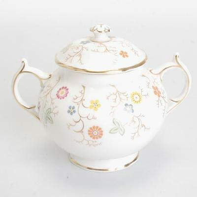 "Vintage Coalport Bone China ""brookdale"" Sugar Bowl"