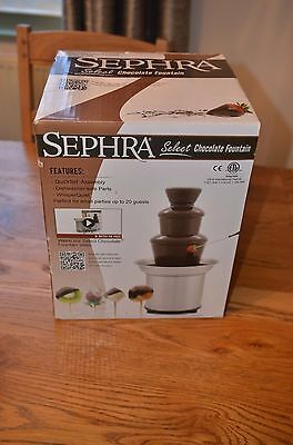 Sephra Select Chocolate Fountain - Used Once. Boxed. Mint