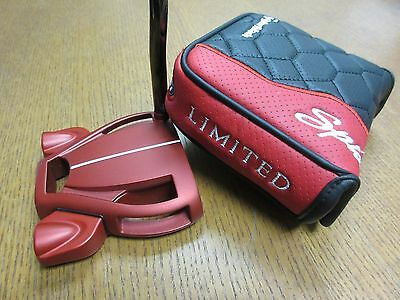 "Slightly Used TaylorMade ITSY BITSY Spider Limited RED 35"" Putter w/Super Stroke"