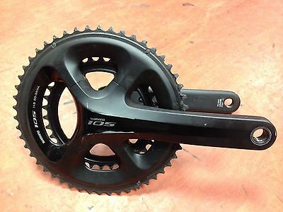 Shimano 105 5800 11 Speed Chainset 50/34 172.5mm With Ultegra BB