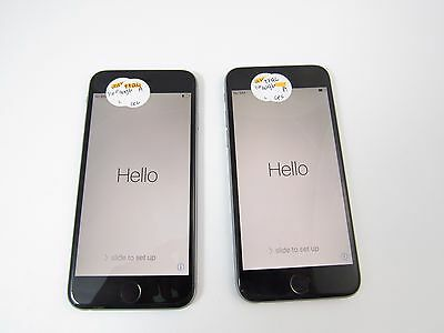 Lot of 2 Apple iPhone 6 16GB (A1549) (Tracfone) (Check ESN)_B12