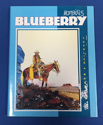 Moebius 5: Blueberry Hardcover Hc : Graphitti Designs 1989 : Signed, Numbered