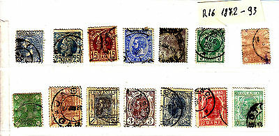 ROMANIA Old Stamps Roumanie 1872-1893  Lot R 16