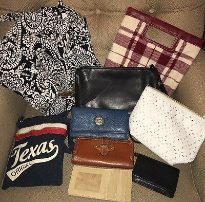 Lot Of Purses And Wallets Including Coach And Michael Kors