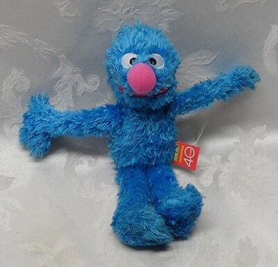 "Sesame Street Muppets GROVER RARE Celebrating 40 Years 10"" EUC 2009 Big Nose"