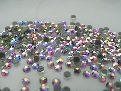 Strass thermocollant rond SS10 - 3 mm (hotfix) Cristal AA++ haute qualité