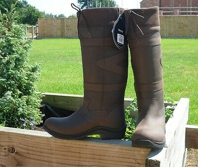 Toggi Canyon Boots Chocolate Brown Size 37 Wide