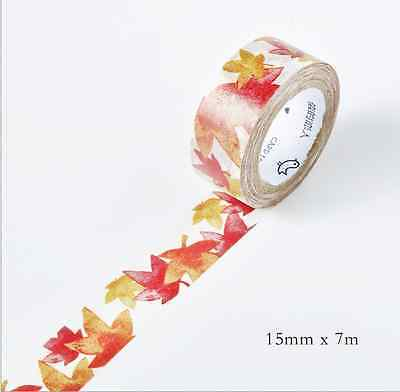 NEW Design 15mm×7M DIY paper Sticky Adhesive Sticker Decorative Washi Tape TA-34