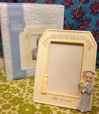 ⭐️ Precious Moments ⭐️ Class Of 2008 4x6 Picture Photo Frame & Box (#744010)