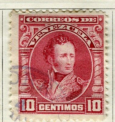 VENEZUELA;  1904 early Sucre issue fine used 10c. value