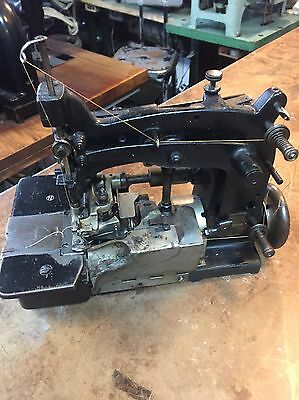 Vintage Union Special 15800 Single Needl Chain Stitch Industrial Sewing Machine