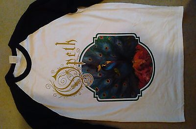 Opeth Sorceress 2016 European tour longsleeved baseball shirt