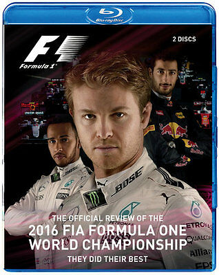 2016 F1 - Official Review Blu-ray Region B Brand New!